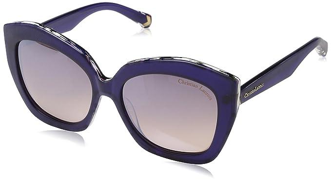 Christian Lacroix CL5070, Gafas de Sol para Mujer, Azul (Nuage), 55