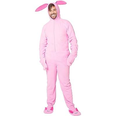 A Christmas Story Men_s Deranged Bunny Pajamas at Amazon Men's Clothing store