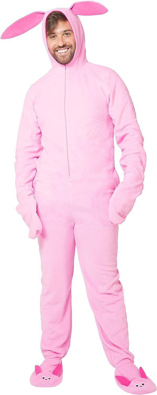 A Christmas Story Men_s Deranged Bunny Pajamas