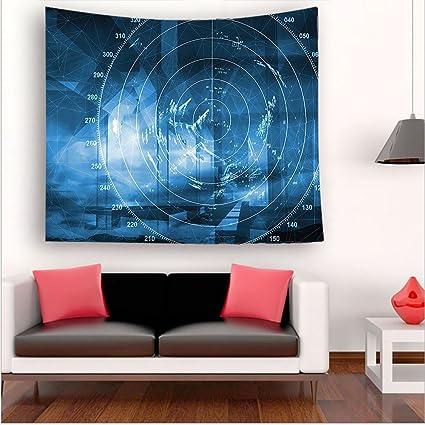 Amazon.com: Nalahome-cor Modern Ship with Radar Exposure in the ...