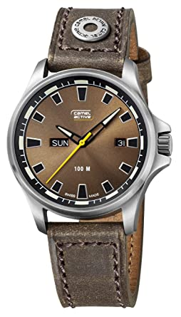 2dbccb38f84 Image Unavailable. Image not available for. Colour: Camel Active Men's  Urban Watch ...