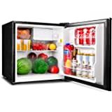 TACKLIFE Compact Refrigerator, 1.6 Cu.Ft(Holds 40 Cans), Mini Refrigerator with Freezer, Energy Star Single Reversible…