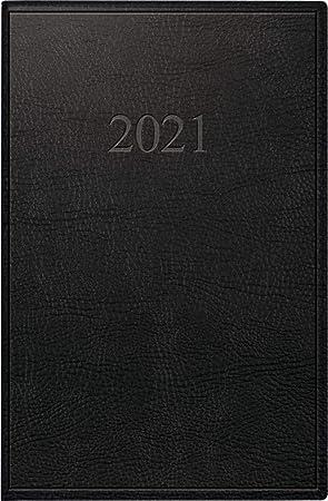 Rido Taschenkalender Partner 1W//2S Prestige braun 2021