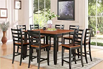 Square Butterfly Leaf Dining Table