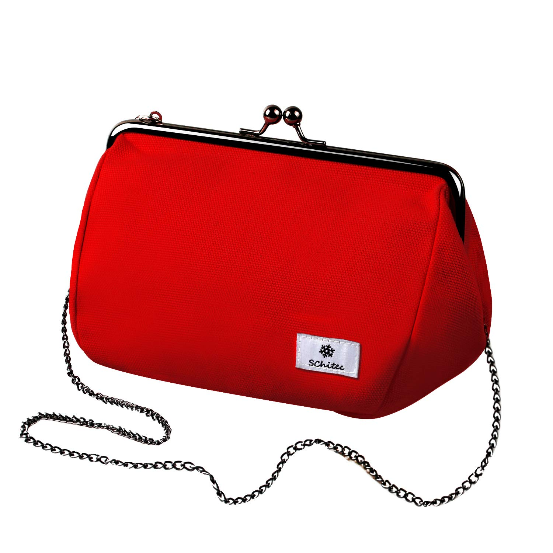 Kiss-Lock Clutch Purse Vintage Woman Shoulder Bag Crossbody Bag Wallet with Chain Strap Purse Vintage Handbag