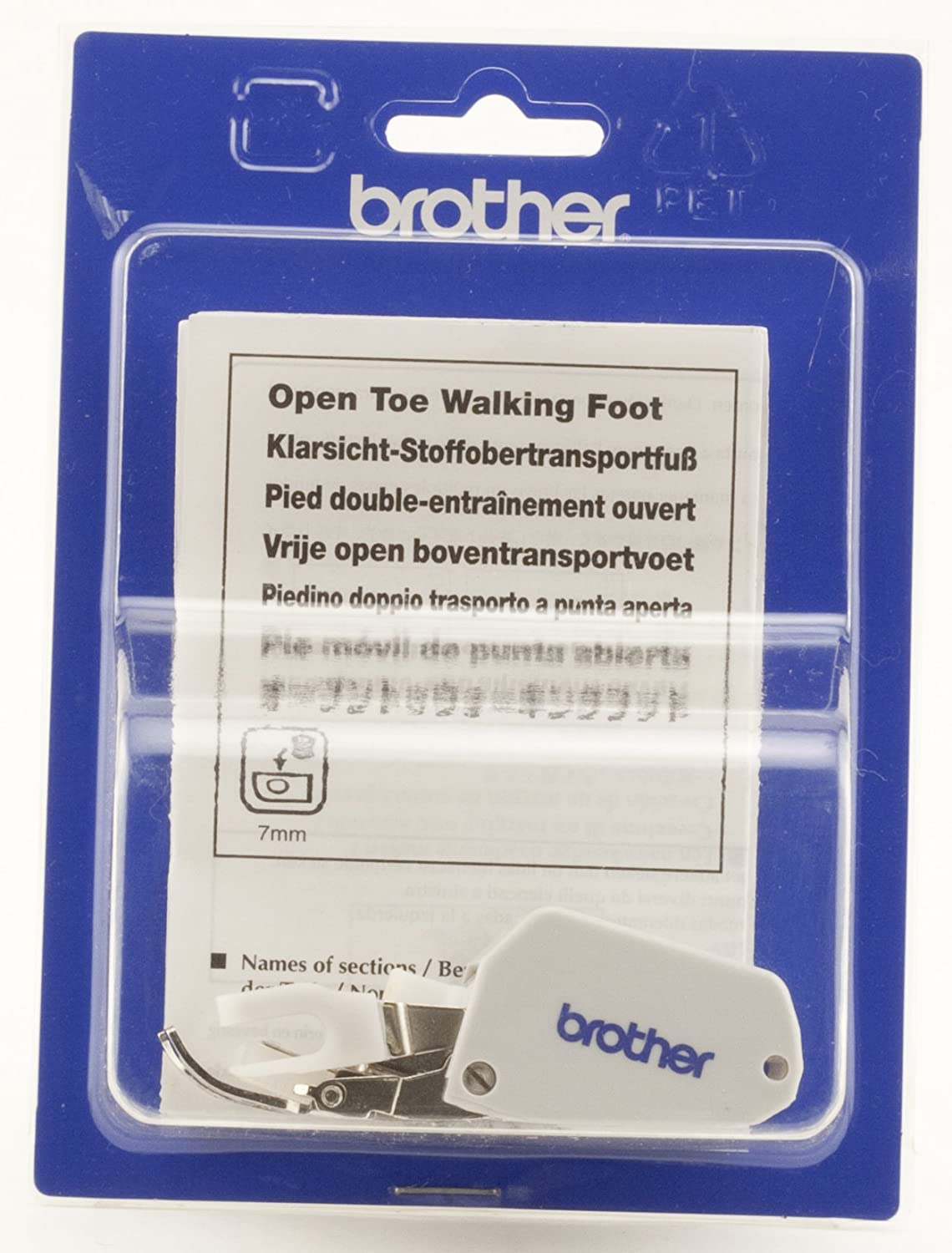 alpha-ene.co.jp Brother Open Toe Walking Foot for Quilting and ...