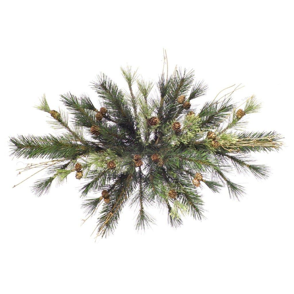 Vickerman 36'' Unlit Mixed Country Pine Swag