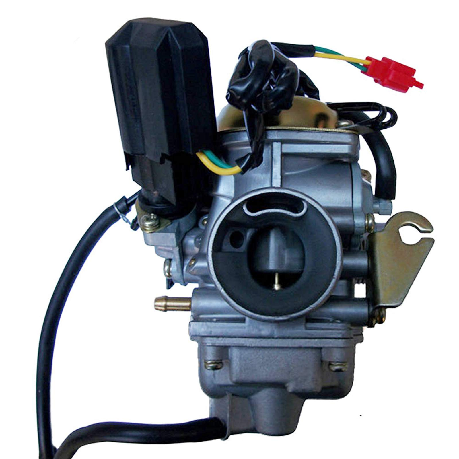 GLENPARTS Carburetor FOR YERF DOG DOGG GY6 150 150cc Scooter Moped Go Kart Carb