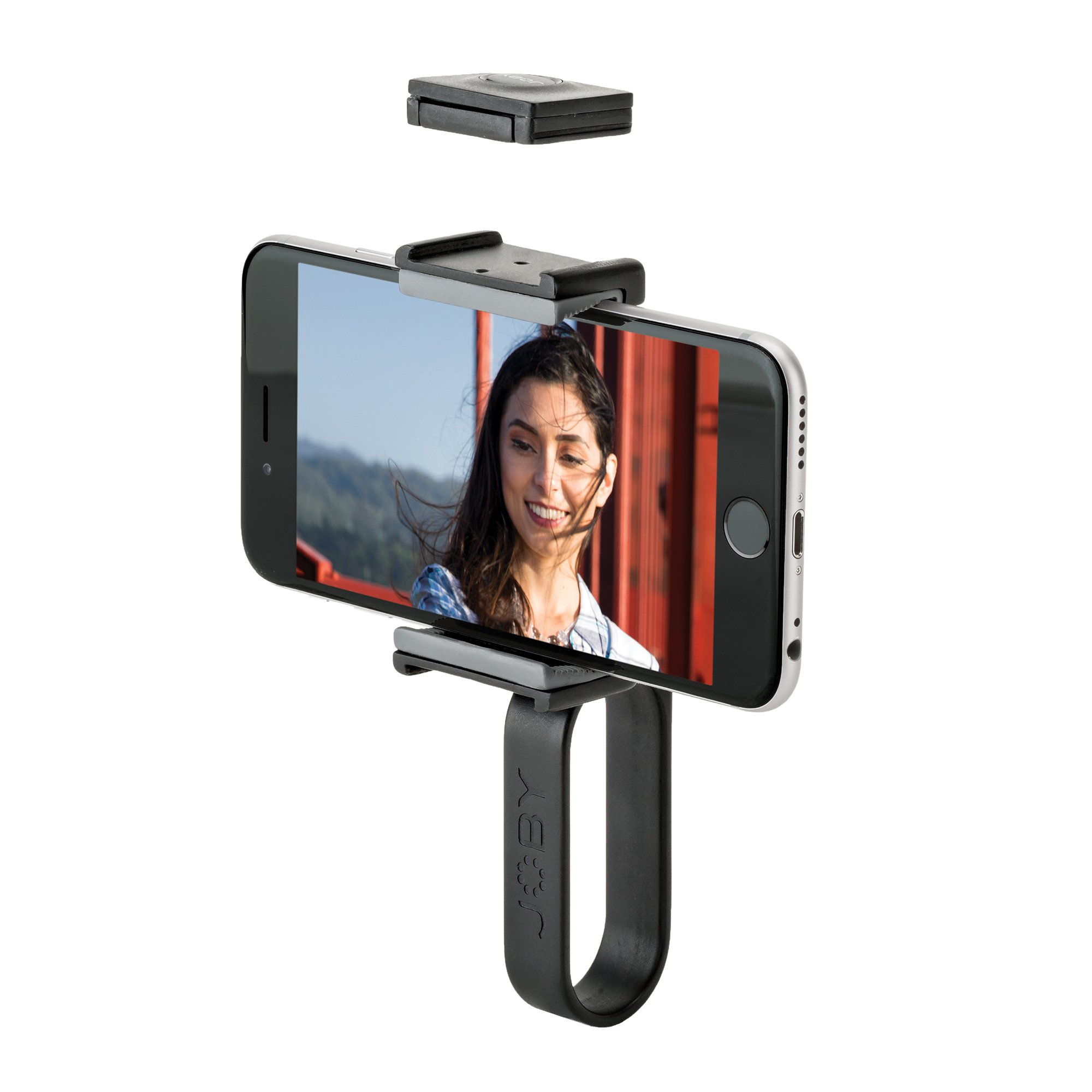 JOBY GripTight POV Kit- Image Stabilizer w/Bluetooth Remote for Apple/Android Smartphones.