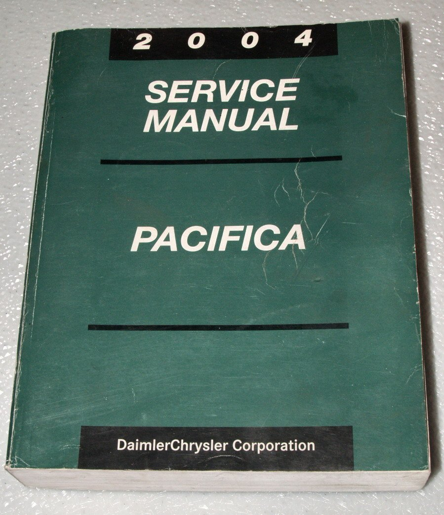 2004 Chrysler Pacifica Service Manual (Complete Volume) Paperback – 2003