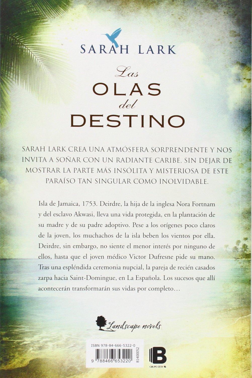 Las Olas Del Destino Serie Del Caribe 2 Amazon Es Lark Sarah Libros