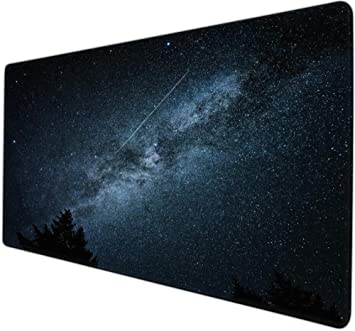 protector mesa escritorio Universo cielo estrellado púrpura verde ...