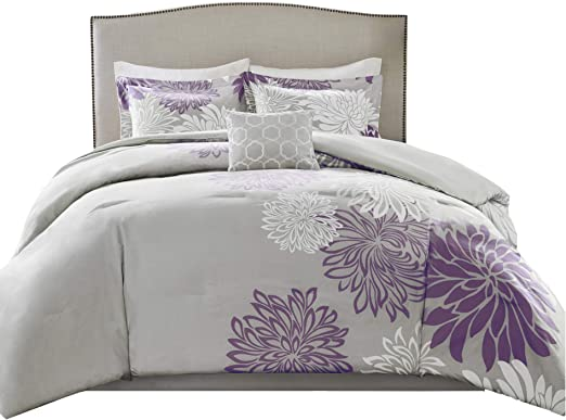 Amazon Com Comfort Spaces Enya 5 Piece Comforter Set Ultra Soft
