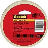 Scotch Masking Tape, Stationery Masking Tape, 19mm x 54.8m, 1 Roll, (3436-C)