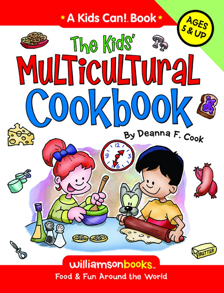 Kids Multicultural Cookbook Can product image