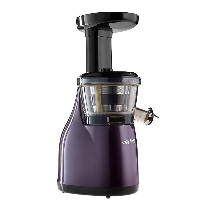 Versapers - Extractor de zumo baja vitesse- berenjena 3 G: Amazon ...