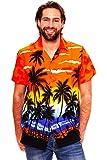Original King Kameha | Funky Camisa Hawaiana | Señores | XS - 6XL | Manga Corta | Bolsillo Delantero | impresión De Hawaii | Playa |diferentes colores
