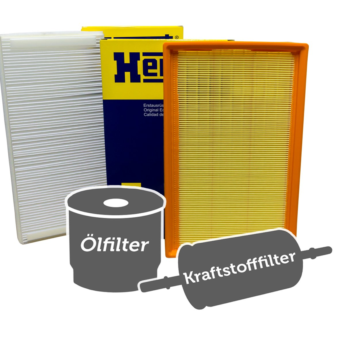 Hengst Filter Set KOMPLETT