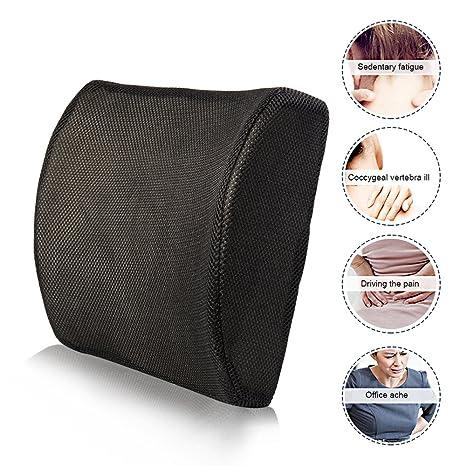 Enjoygoeu_ES Cojín Lumbar Respaldo Corrección de la Postura ...