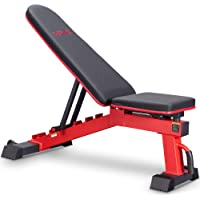 DERACY Ajustable Weight Bench for Full Body Workout, Incline and Decline Weight Bench for Indoor Workout, Home Gym
