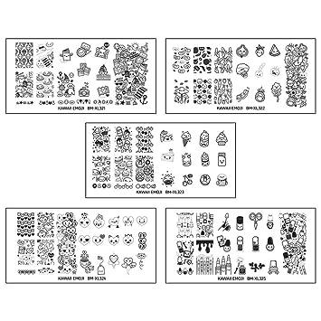 Bundle Monster Nail Art Nailart Polish Stamp Stamping Manicure Image