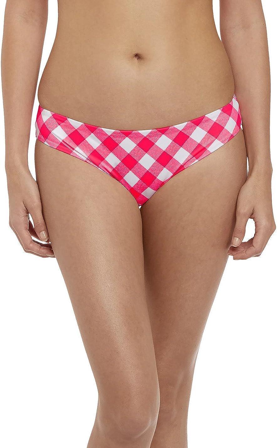 Freya Swimwear Totally Check Bikini Brief//Bottoms Tropical Punch 2926