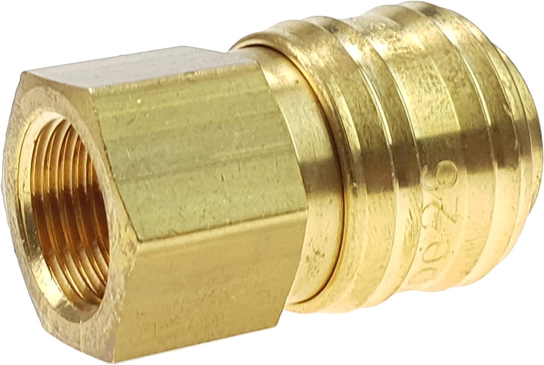 RQS Rectus Druckluftkupplung Innengewinde Schnellkupplung 3//8 Pneumatik NW 7,2mm