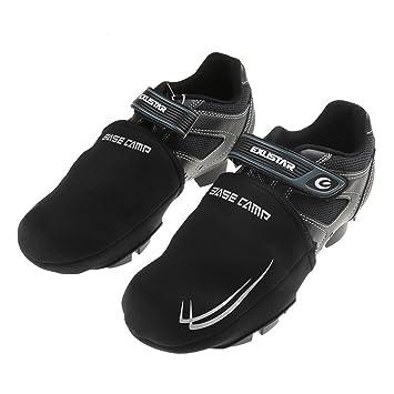 Shinmax Cubiertas de Zapatos Cortos de Invierno, Zapatillas de Ciclismo Cubiertas Cubierta de Toe Corto para Road o Mountain Bike Zapatos Overshoes: ...