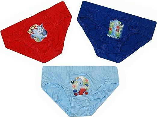 2//3 LITTLE BOYS FAVOURITE 18//24m 3 PAIRS IGGLE PIGGLE PANTS /'NIGHT GARDEN/'