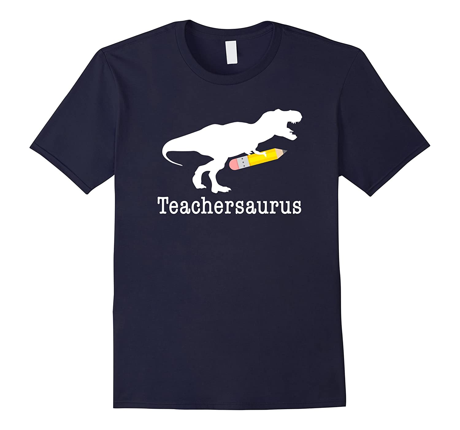 Teachersaurus Shirt, Funny Cute Dinosaur Teacher School Gift-ANZ