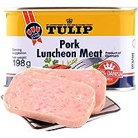 丹麦 原装进口 郁金香(Tulip)经典午餐肉罐头 (经典原味, 198g*3罐)
