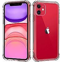 """Capa Protetora Para iPhone 11 Tela 6.1"""" Polegadas Capinha Case Transparente Air Anti Impacto Proteção De Silicone…"""