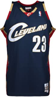 375fed65d Mitchell & Ness LeBron James #23 Cleveland Cavaliers 2008-09 Swingman NBA  Jersey Navy