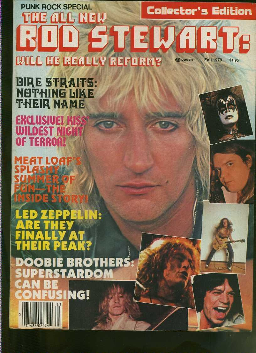 1979 Punk Rock Special Rod Stewart Led Zeppelin Kiss Meat Loaf Bob Welch MBX94