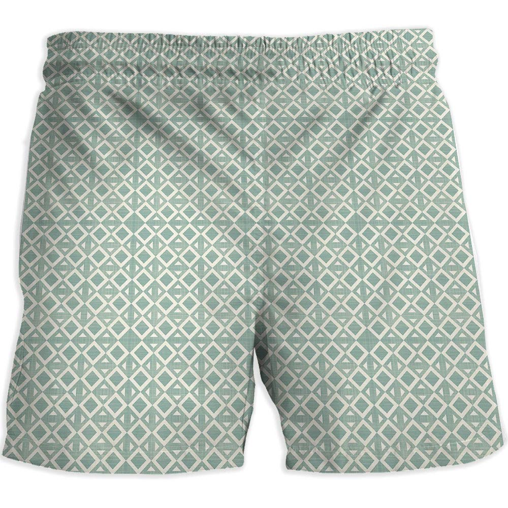 8cb9030204 Amazon.com: Athletic Shorts Pockets,Geometric,Printed Quick-Drying Swimming,Zig  Zag Herrig: Clothing