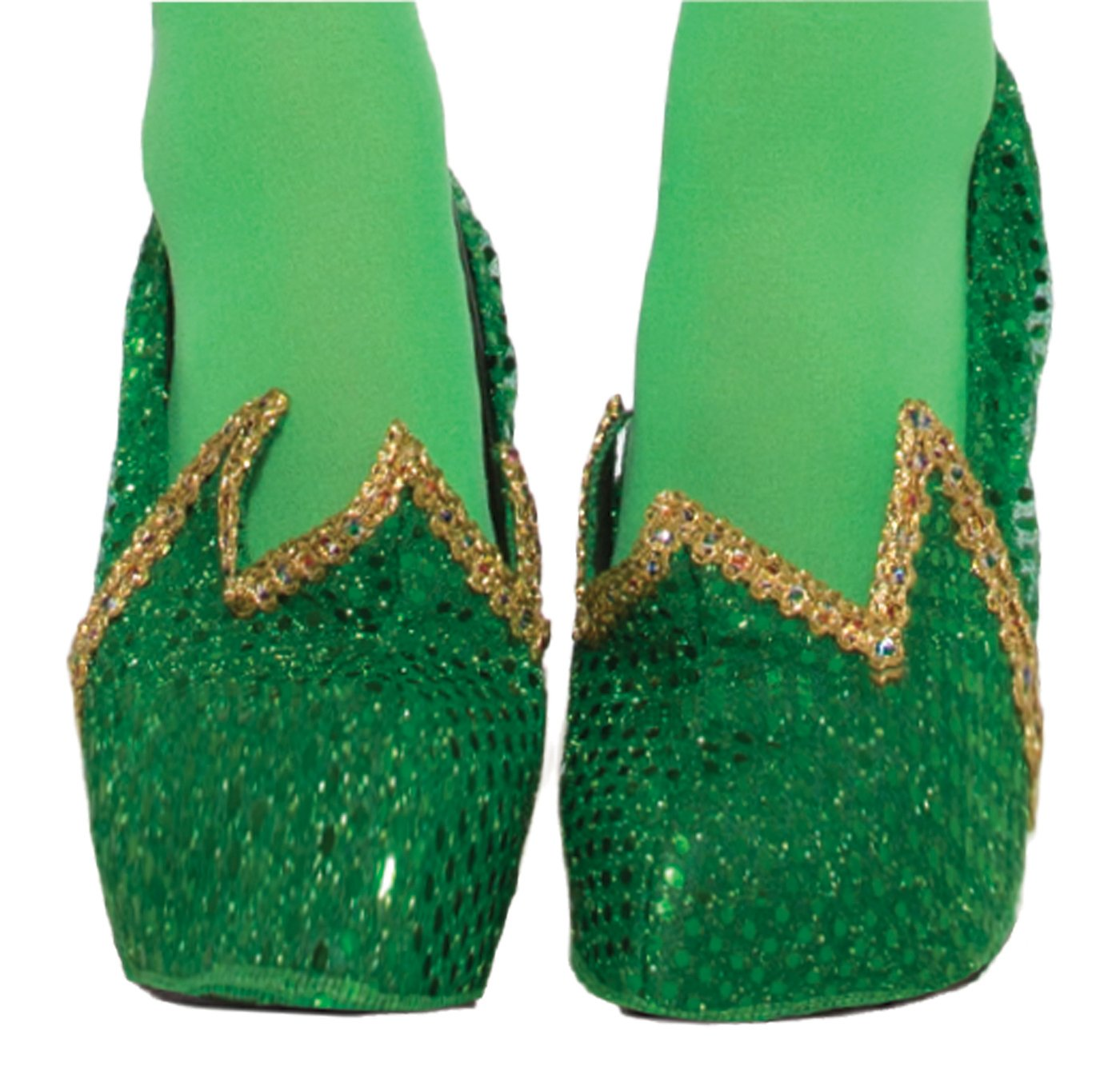 Forum Novelties Adult Miss Pixie Tinkerbell Costume Shoe Covers 78496