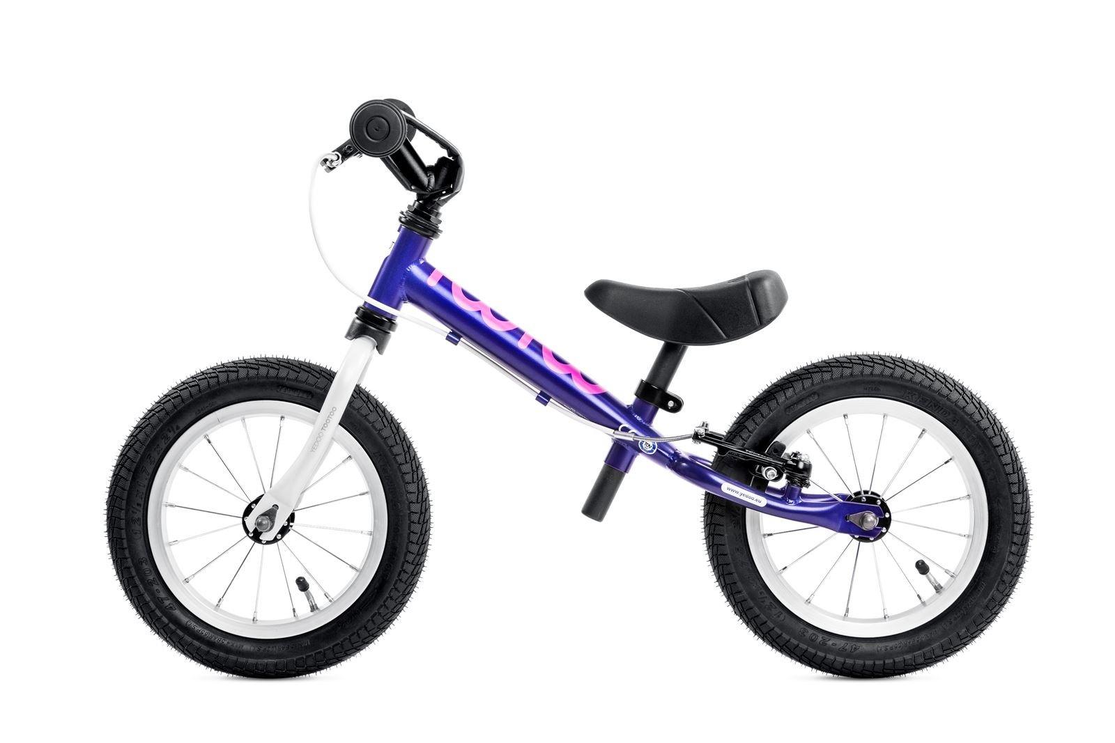 TooToo 12'' Balance Bike by Yedoo Age 2-5 (Violet)