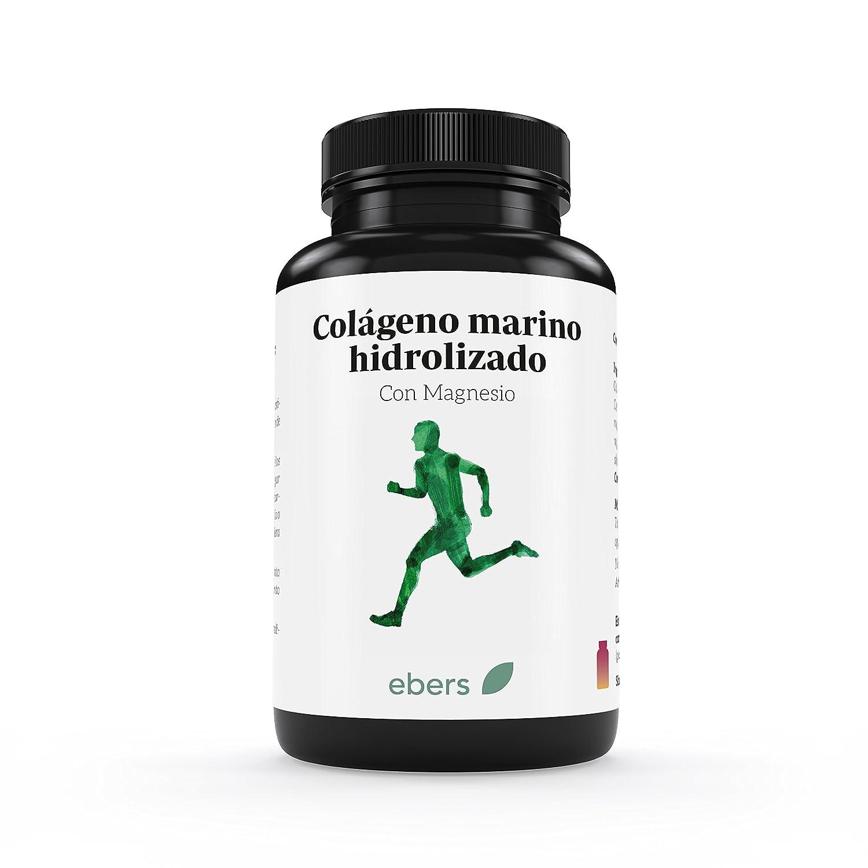 Ebers Colágeno Marino Hidrolizado Con Magnesio - 100 Tabletas: Amazon.es: Salud y cuidado personal