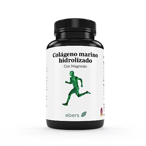 Ebers Colágeno Marino Hidrolizado Con Magnesio - 100 Tabletas