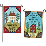 Evergreen Every New Day is a Blessing Suede Garden Flag, 12.5 x 18 inches