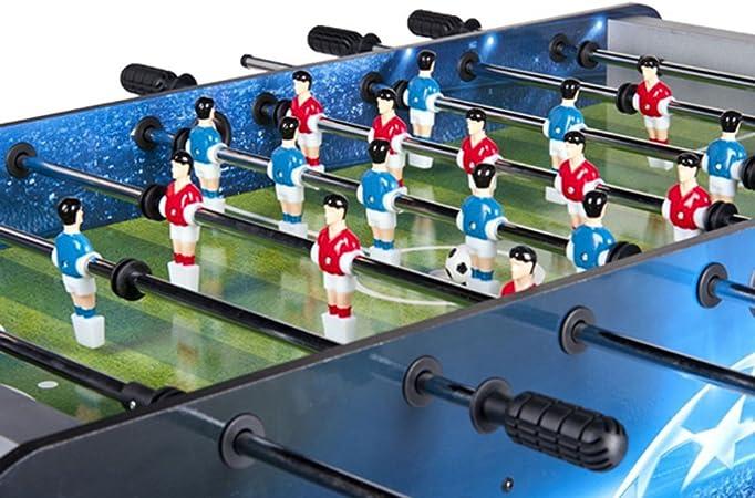 Leomark Futbolín De Mesa Madera Futbolines Fútbolista Deporte Patada Champions, Dimensiones: 122 x 61 x 83 (A) cm: Amazon.es: Juguetes y juegos