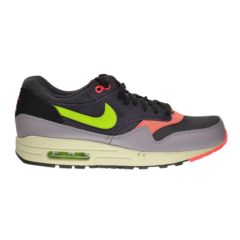 Nike Air Max 1 Essential Men's Shoes Cave Purple/Fierce Green-Purple Steel 537383-500 B00YJZBB4Q 11.5 D(M) US