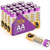 GP Extra Alkaline batterijen AA mignon penlite batterij 1.5V - 20 pack