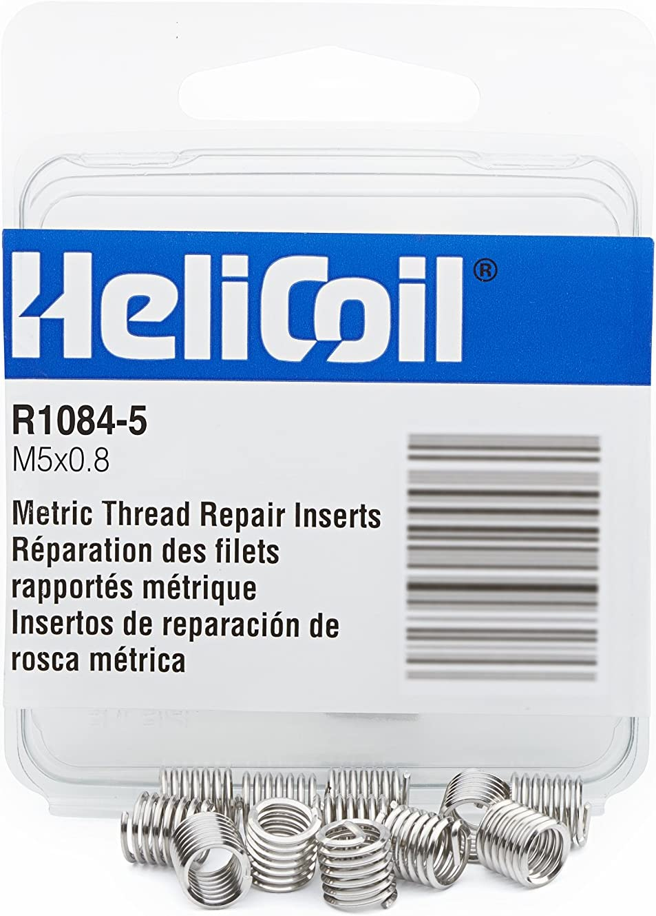 Heli-Coil R10845 M5X0.8 Inserts//Pk 12