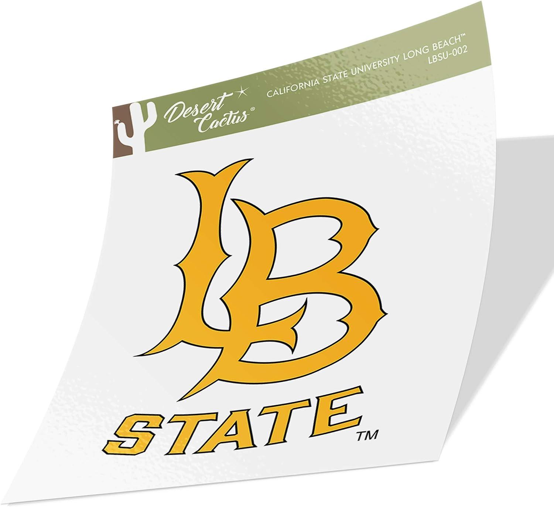 California Cal State University Long Beach CSULB 49ers Dirtbags NCAA Vinyl Decal Laptop Water Bottle Car Scrapbook (Sticker - 002)