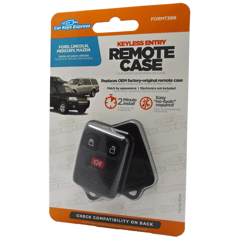 Amazon.com: Car Keys Express 3 Button Shell for Ford Keyless ...
