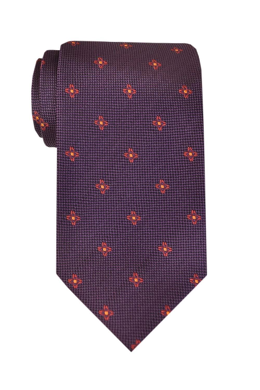 Remo Sartori Made in Italy Purple Pattern Necktie Tie 3.34 Width Silk