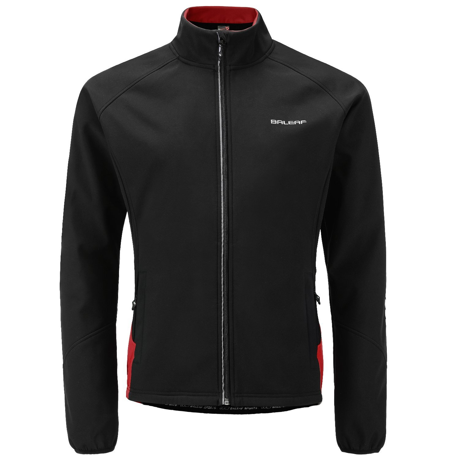 Baleaf Mens Windproof Thermal Winter Cycling Softshell Jacket