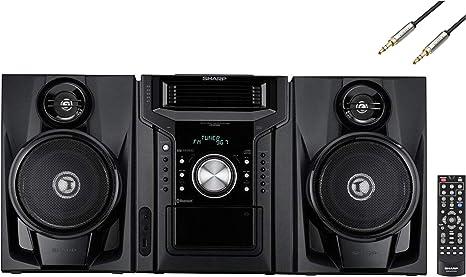 Amazon.com: Sharp 240 vatios Mini Hi-Fi estéreo de audio ...