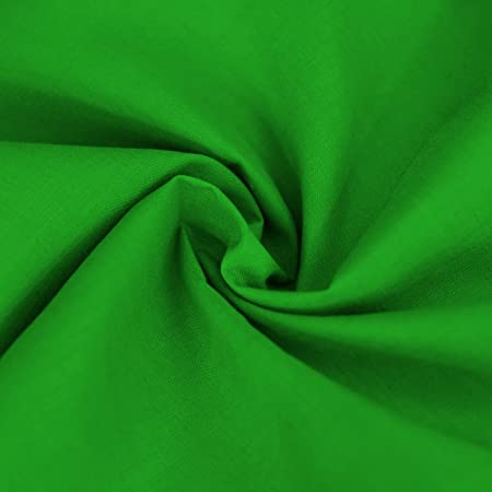 Fern Green Plain Polycotton Poplin Fabric 78237c3c3